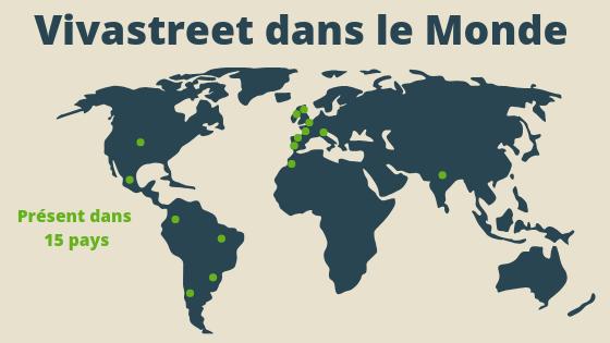Vivastreet dans 15 pays